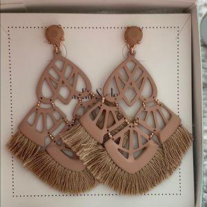 Alexandria Chandelier earrings NIB